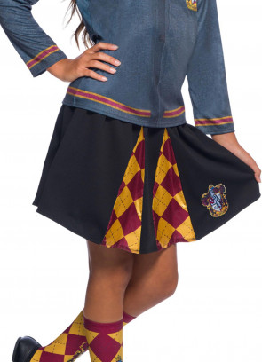 Gryffindor Pleated Skirt - Girls - Harry Potter
