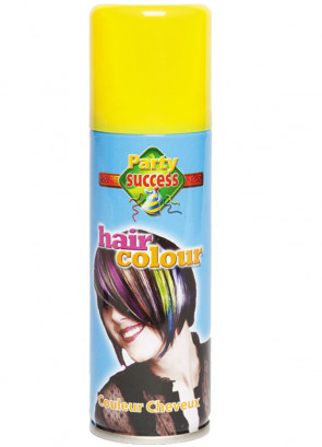 Colour Hair Spray (Yellow)
