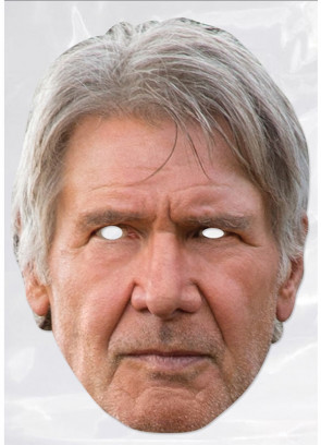 Han Solo / Harrison Ford Card Face Mask