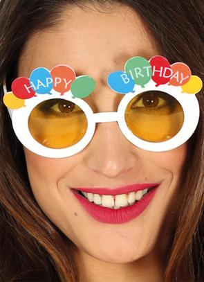 Happy Birthday Balloon Glasses