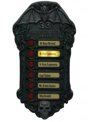 Awesome Haunted Doorbell - Kids will enjoy this!