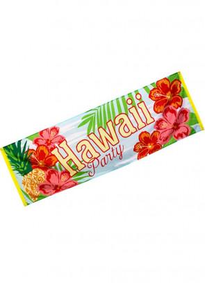Hawaiian Large Party Banner 220 x 74cm