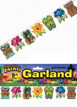 Hawaiian Luau Garland 9ft