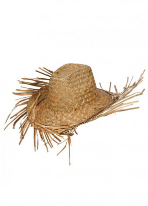 Hawaiian Beach Bum Straw Hat