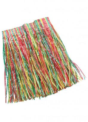 """Hawaiian Kids Short Grass Skirt - will fit up to waist size 28"""" or 71cm"""