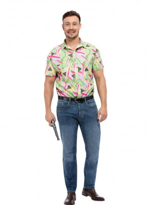 Hawkins Chief of Police – Casual 80's Shirt
