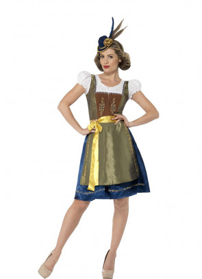 Heidi Costume (Traditional Bavarian)