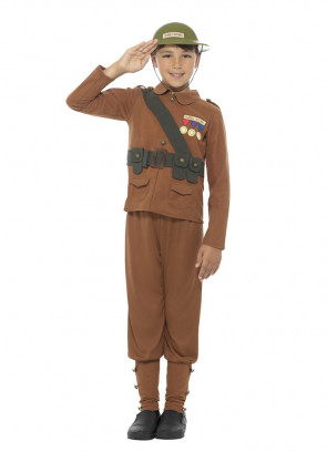 WWI Soldier - Boys - Horrible Histories