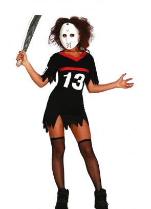 Horror Hockey Lady