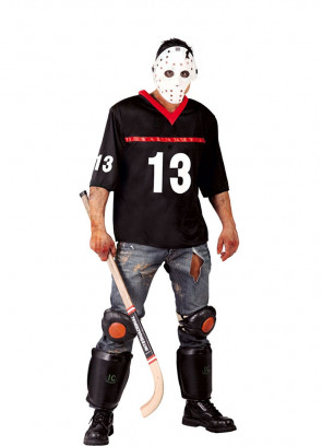 Horror Hockey Player