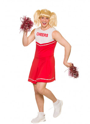Hot Cheerleader Costume