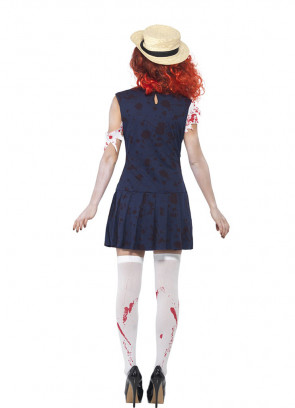 Zombie College Student (School Girl) Costume