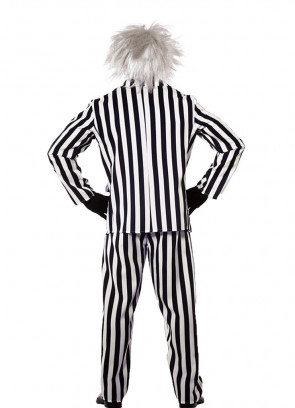 Black & White Wacky Ghost - Mens Costume
