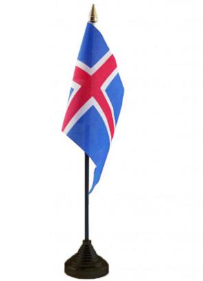 """Iceland Table Flag 6"""" x 4"""""""