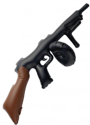 Inflatable Tommy Gun (80cm)