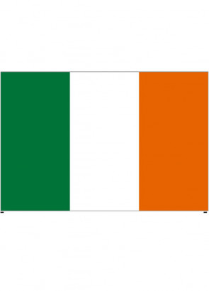 Irish (Ireland Tricolour) Flag 5x3