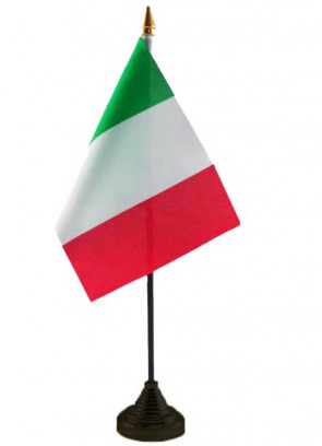 """Italy Table Flag 6"""" x 4"""""""