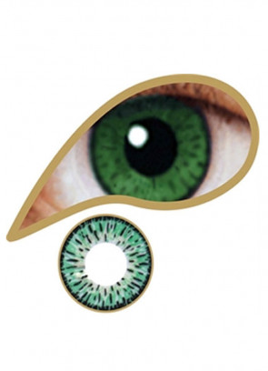 Jade Green Coloured Contact Lenses - 30 Day Wear