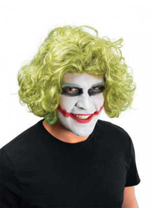 Mad Man Villain Wig - Green