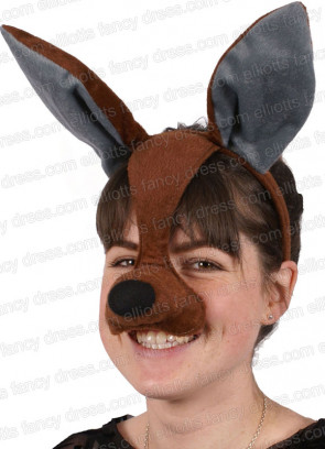 Kangaroo Mask with Sound