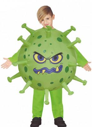 COVID Virus Inflatable Kids Costume