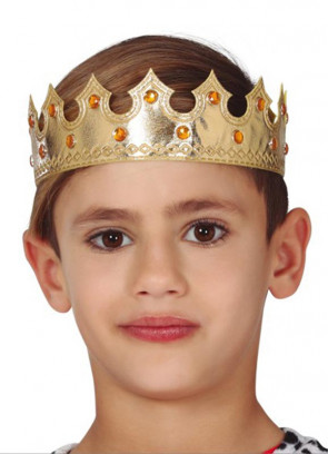 Kids Golden Crown with Jewels