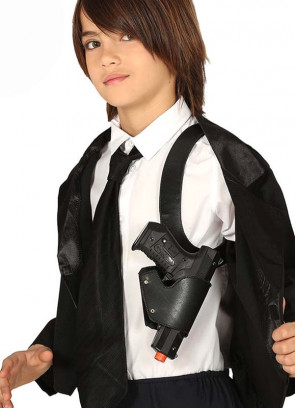 Kids Shoulder Holster and Gun