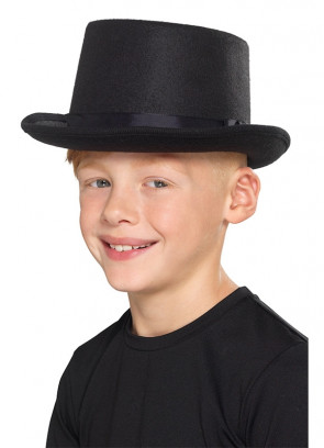 Black Top Hat - Kids Size