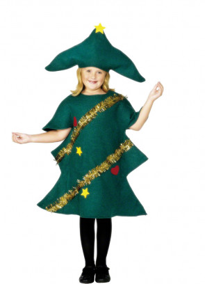 Christmas Tree (Kids) Costume
