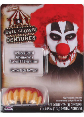 Evil Clown Teeth