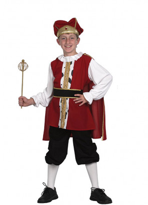 Medieval King (Boys) Costume