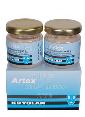 Kryolan Artex plastic gel 80ml - 3D Silicon skin effects