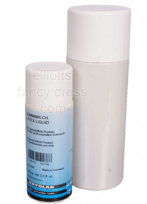 Kryolan Liquid Latex Professional Quality (Clear)(100ml)