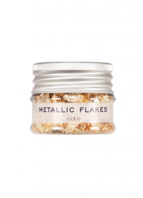 Kryolan Metallic Flakes - Gold (Plastic Free)