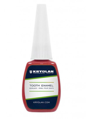 Kryolan Tooth Enamel 12ml (Red)