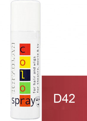 Kryolan Color Hair Spray (Dark Red D42)