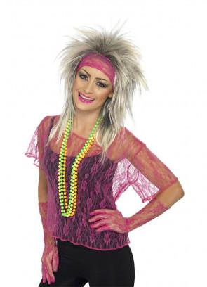 Lace Net Vest (Pink)