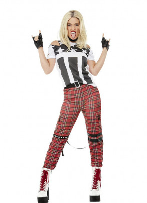 Ladies Punk Rocker Costume