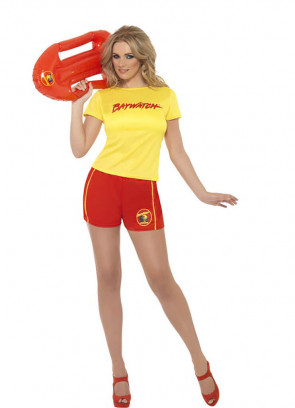 Baywatch Lifeguard (Shorts) Costume