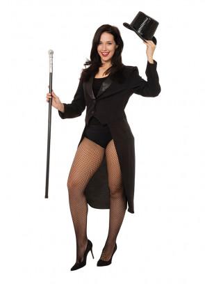 Black Tailcoat (Ladies) Costume