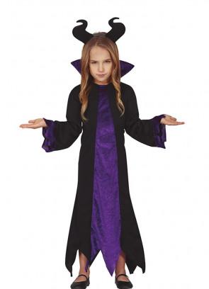 Girls Lady Raven Costume