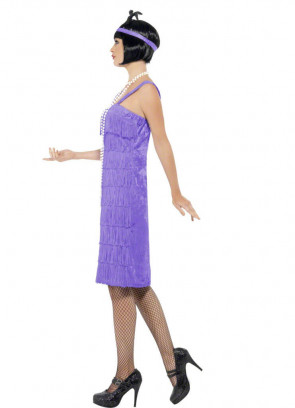 Jazz Flapper Lilac Costume
