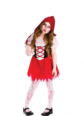 Little Zombie Red Riding-Hood Costume