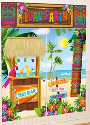Hawaiian Luau Party - Tiki Bar - Scene Setter