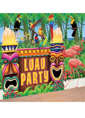 Hawaiian Luau Party Scene Setter