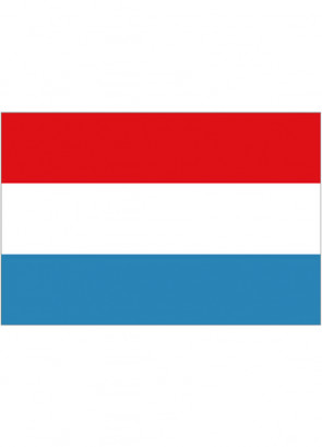 Luxembourg Flag 5x3