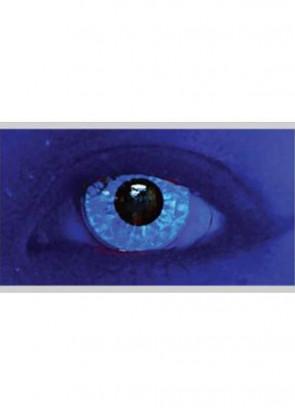 M Ran Blue Glitter UV Contact Lenses - 30 Day Wear