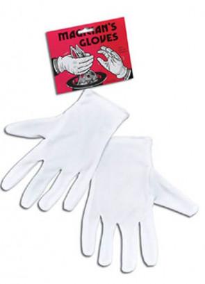 Magician or Santa Gloves White