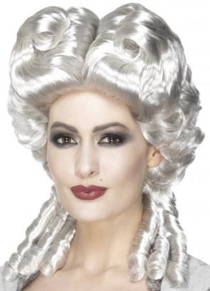 Marie Antoinette - White Baroque Wig