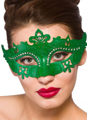 Amelia Eye Mask (Green)